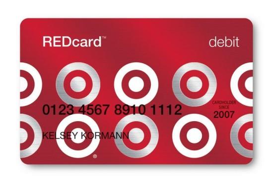 Target red card debit