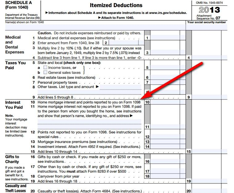 How To Deduct Property Taxes On Irs Tax Forms