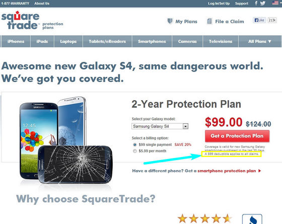 Squaretrade Smartphone Warranty Review