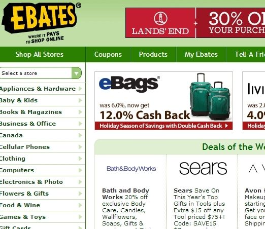 ebates cash back review