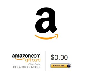 Amazon Gift Card graphic