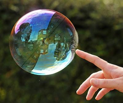 tech bubble about to pop