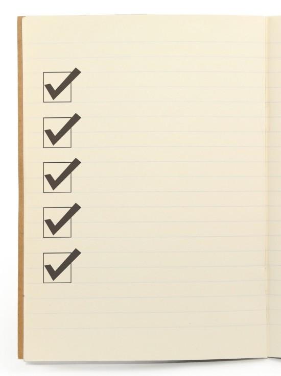 annual personal finance checklist
