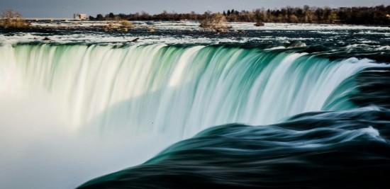 waterfall falling stock price