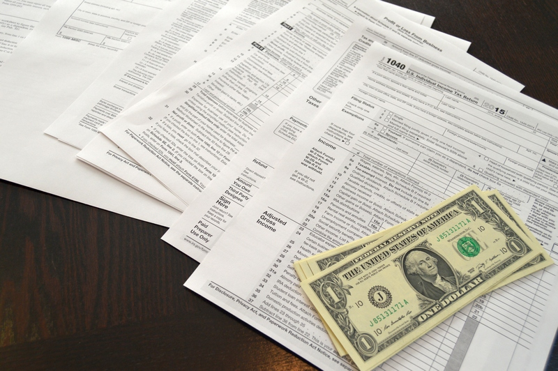 tax forms for filing taxes