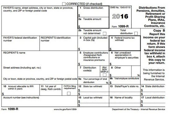 roth ira forms