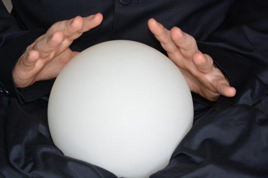 crystal ball stock market economy